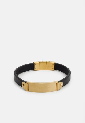 HERO PLATE - Bracelet - gold-coloured/black