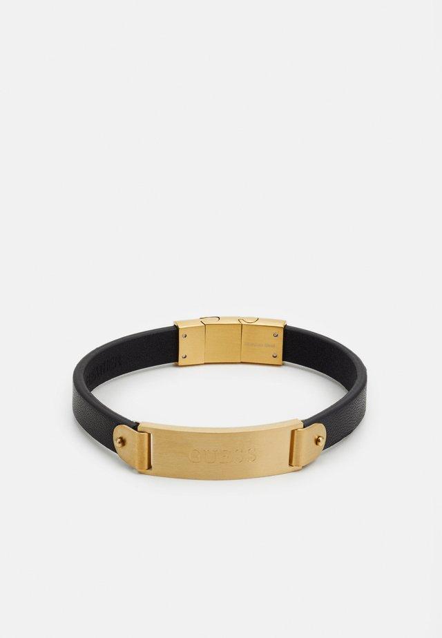 HERO PLATE - Bracelet - gold-coloured/black