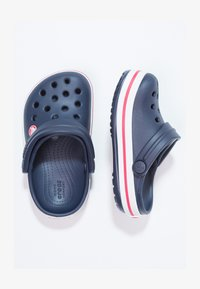 Crocs - CROCBAND - Pool slides - navy/red - 1