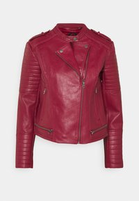 Pepe Jeans - LENNA - Faux leather jacket - currant - 4