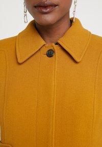 J.CREW - LADY DAY UPDATE - Classic coat - dark amber - 5