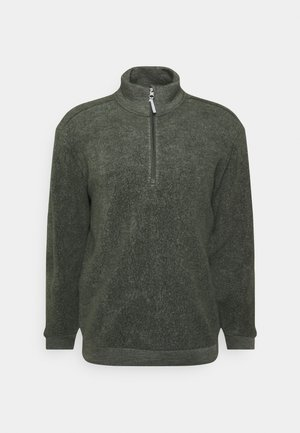 ALTO HALF ZIP - Fleecová mikina - willow green