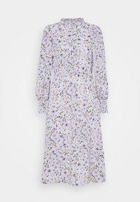 ONLY - ONLTAMARA LONG FLOWER DRESS - Denní šaty - white - 4