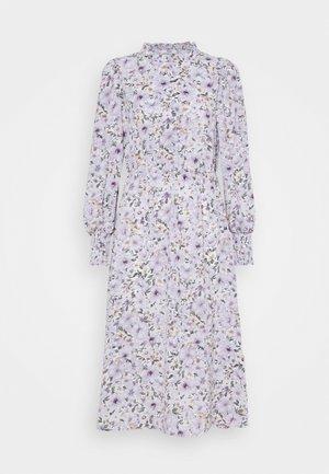 ONLTAMARA LONG FLOWER DRESS - Day dress - white