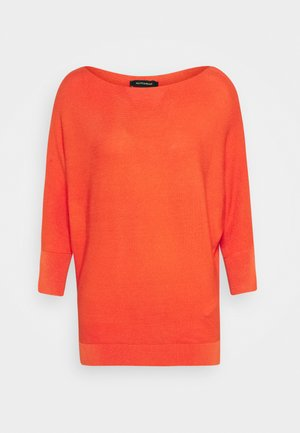 DOLMANSLEEVE - Strickpullover - orange