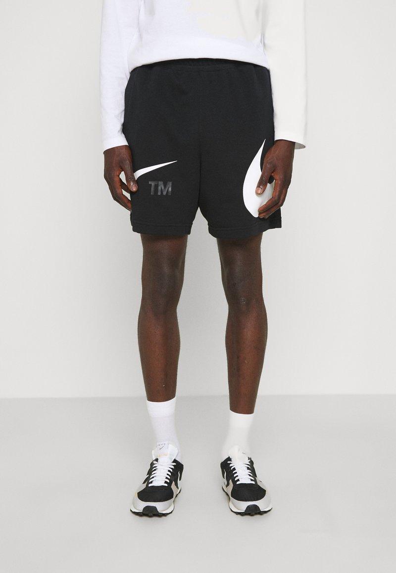 Nike Sportswear - Šortky - black/white