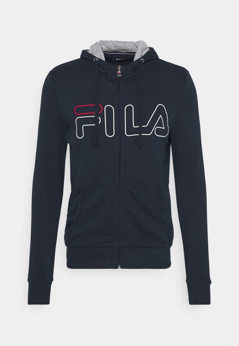 Fila - WILLI - Zip-up hoodie - peacoat blue