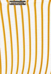 watercult - SUMMER STRIPES - Bikini pezzo sotto - white/honey - 2