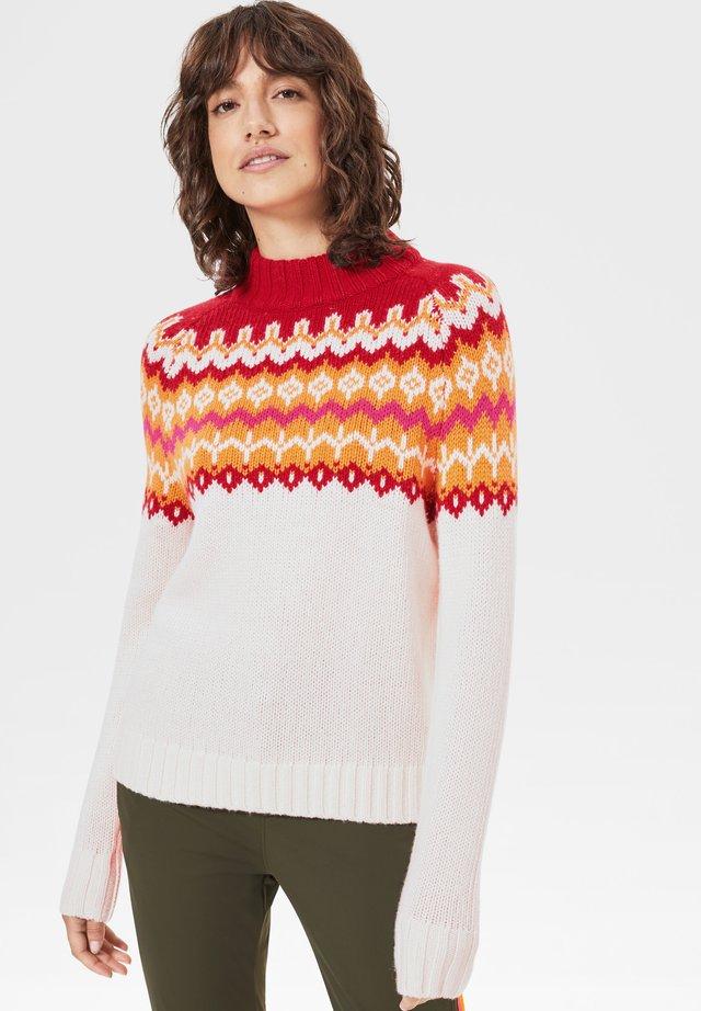 DEMI - Sweter - white