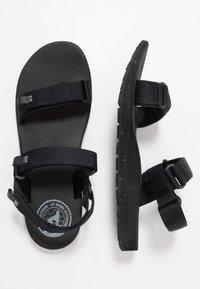 Jack Wolfskin - OUTFRESH - Walking sandals - black/light grey - 1