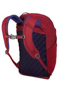 Osprey - JET - Rucksack - cosmic red - 3
