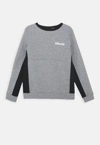 Nike Sportswear - AIR CREW - Mikina - dark grey heather/black - 0
