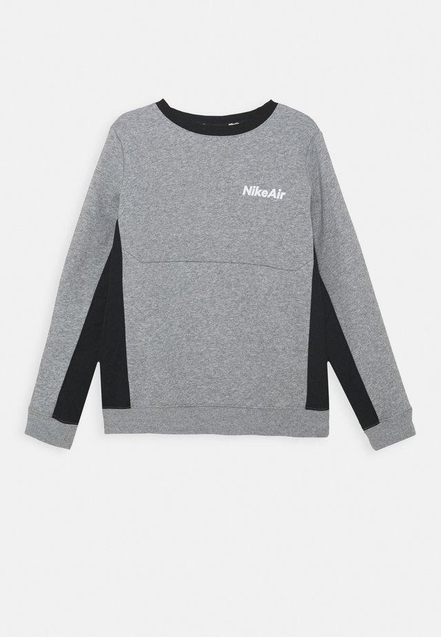 AIR CREW - Sweater - dark grey heather/black