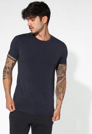 T-shirt - bas - blu cielo