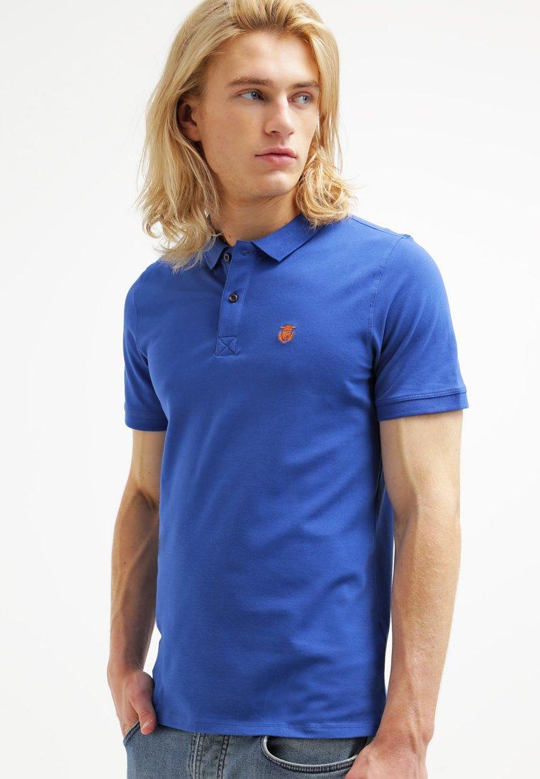 Selected Homme - SLHARO EMBROIDERY - Polo shirt - monaco blue