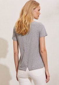 Odd Molly - DAPHNE - Print T-shirt - grey melange - 1