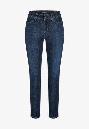 PIERA - Jeans Tapered Fit - darkblue
