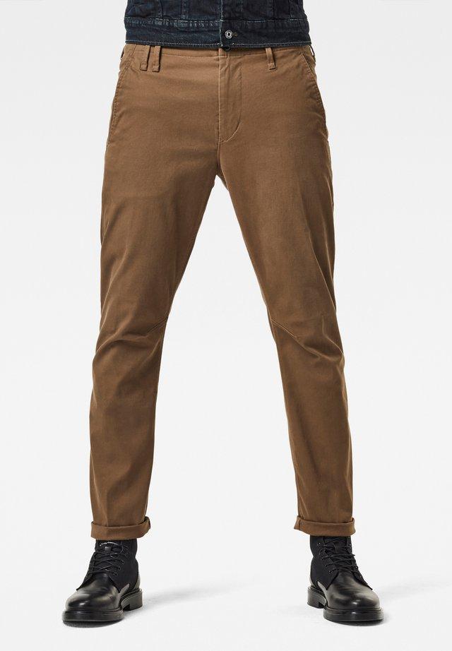 VETAR SLIM - Trousers - wild olive