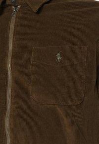Polo Ralph Lauren - LONG SLEEVE SPORT - Vapaa-ajan kauluspaita - cooper brown - 5