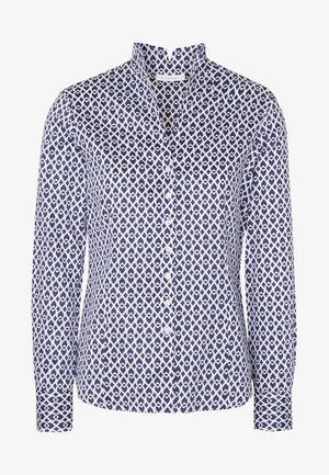 Button-down blouse - dark-blue denim