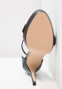 ALDO - MADALENE - Korolliset sandaalit - black - 4