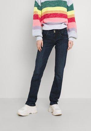GEN - Straight leg jeans - blue black wiser