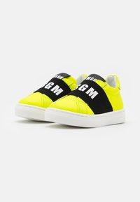 MSGM - UNISEX - Slip-ons - neon yellow - 1