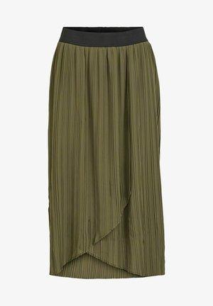 Wrap skirt - ivy green