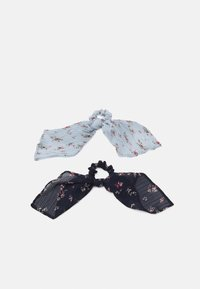 Pieces - PCJUNI BOW SCRUNCHIE 2  PACK - Hair Styling Accessory - kentucky blue - 0