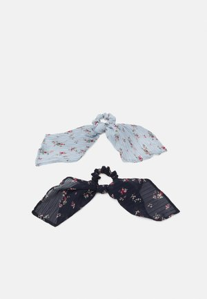 PCJUNI BOW SCRUNCHIE 2  PACK - Haar-Styling-Accessoires - kentucky blue