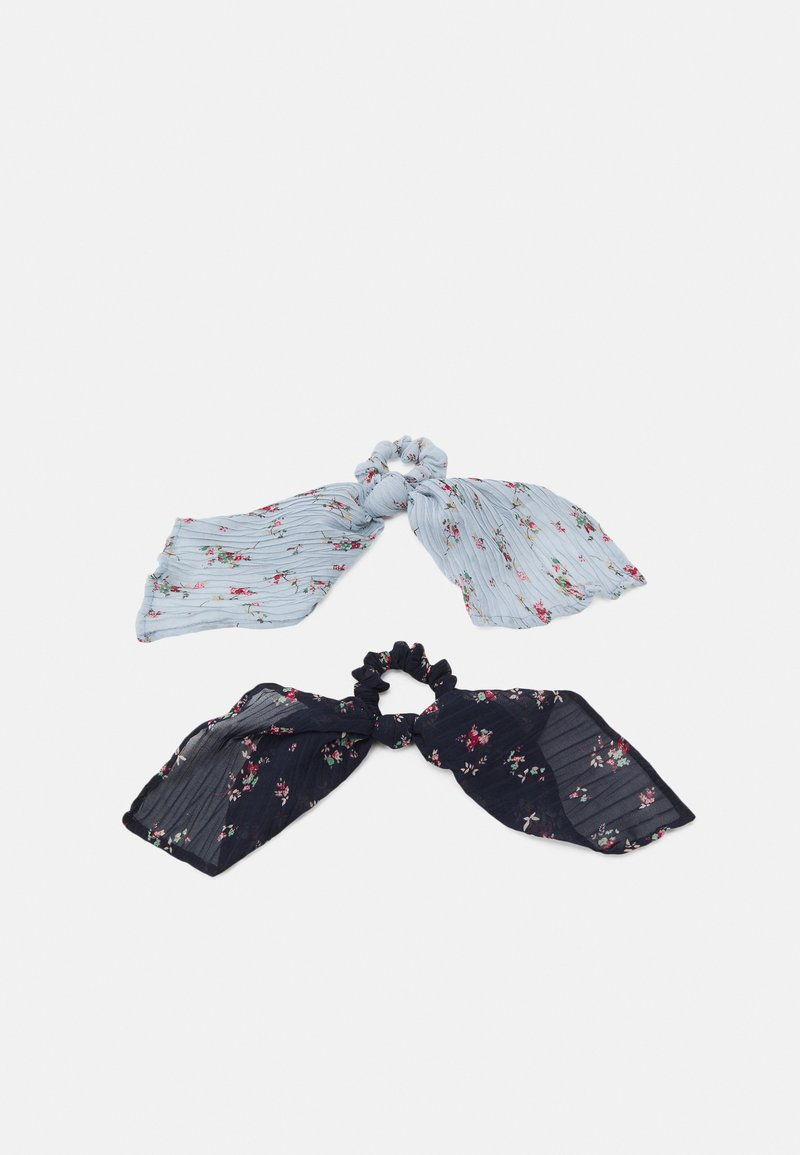 Pieces - PCJUNI BOW SCRUNCHIE 2  PACK - Hair Styling Accessory - kentucky blue