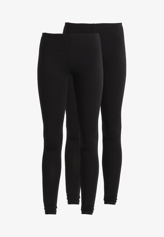 2 PACK - Legging - black