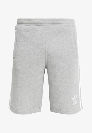 3 STRIPE UNISEX - Tracksuit bottoms - medium grey heather