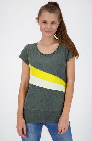 CLEAAK - Print T-shirt - dark forest