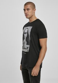 Mister Tee - BAD HABIT - T-shirt med print - black - 3