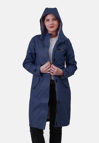 Dingy Rhythm Of The Rain - Waterproof jacket - marineblau - 2