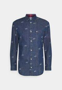 CRITTER PRINT UNISEX - Shirt - denim dark