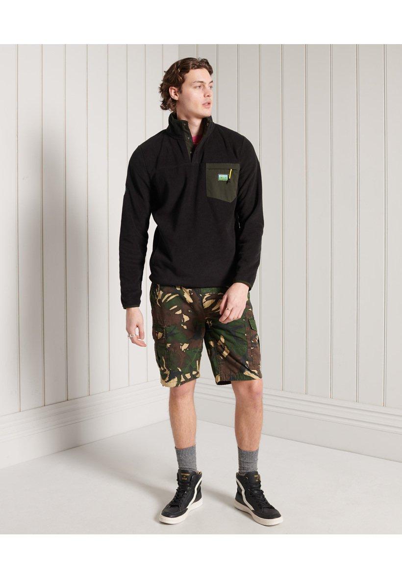 Men B TRAIL - Fleece jumper
