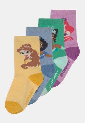 DISNEY PRINCESSES 4 PACK UNISEX - Socks - multi-coloured