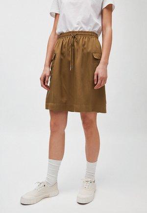 ALONAA - A-line skirt - golden khaki