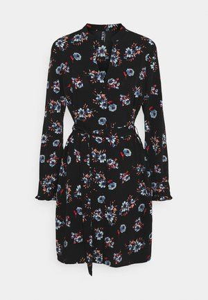 PCLUNILLA DRESS  - Shirt dress - black