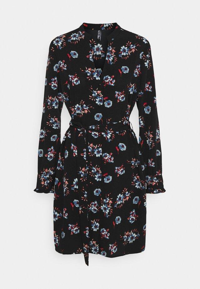 PCLUNILLA DRESS  - Sukienka koszulowa - black