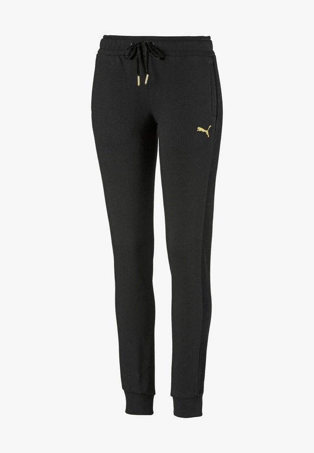 PUMA FLEECE WOMEN'S TRACK PANTS FEMMES - Trainingsbroek -  black