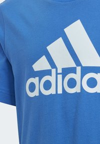 adidas Performance - MUST HAVES  BADGE OF SPORT T-SHIRT - T-shirt print - blue - 4