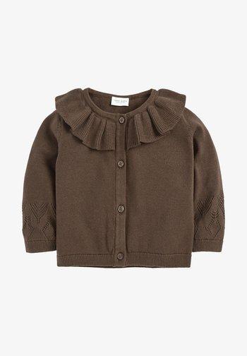 Cardigan - dark brown
