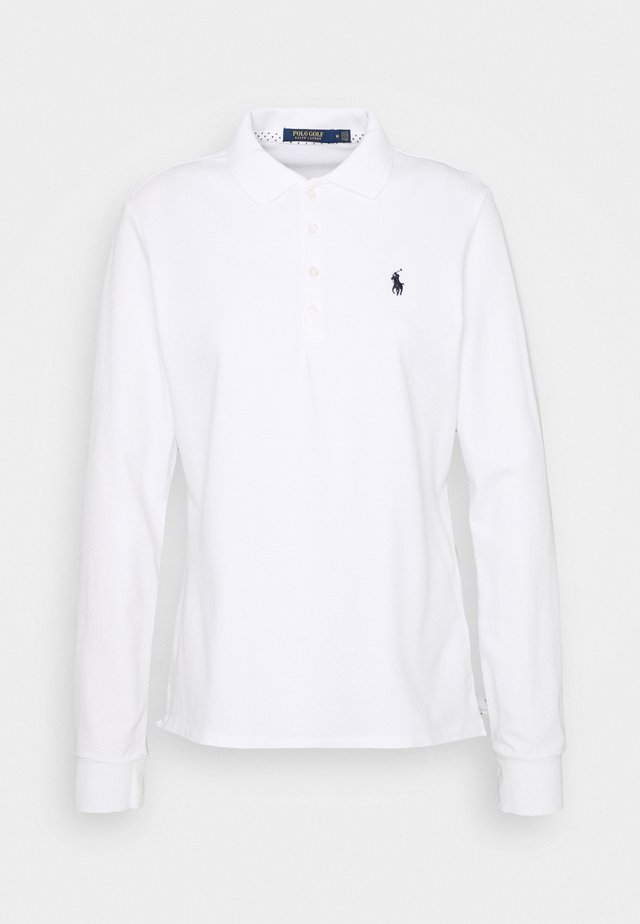 KATE LONG SLEEVE - Polo shirt - pure white