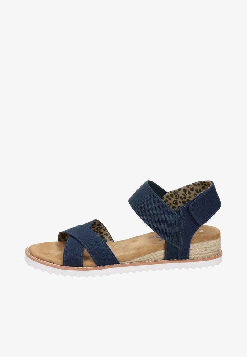 BOBS from Skechers - DESERT KISS - Sandals - blauw