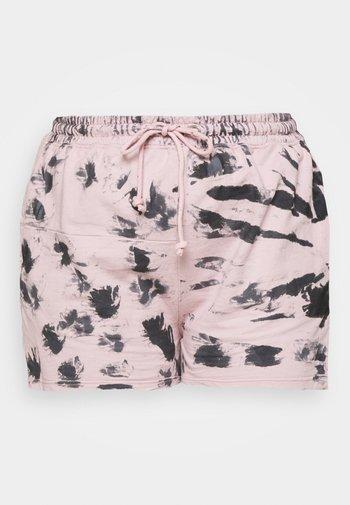 RIE DYE RUNNER - Shorts - pink