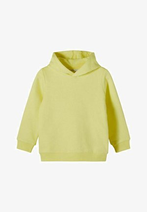 Felpa con cappuccio - yellow pear