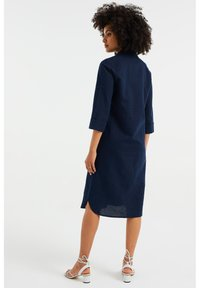 WE Fashion - Shirt dress - dark blue - 1